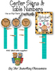 EDITABLE Center Signs & Table Numbers {Jungle Zoo Safari Theme}