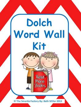 Dolch Word Wall Packet: All 220 Dolch Words plus extras: E