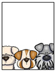 EDITABLE Dog Themed Binder Covers