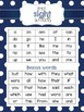 EDITABLE First 50 High Frequency Words