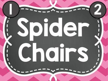 EDITABLE Flexible Seating ClipChart