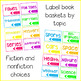 EDITABLE Library Labels {Bright & White}