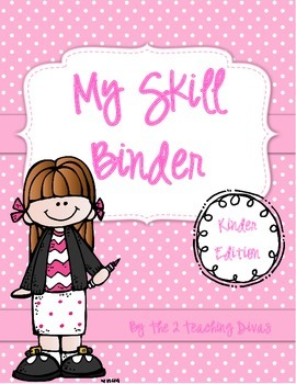 EDITABLE!  My Skill Binder, Kindergarten Edition! By The 2
