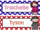 EDITABLE Personalized Bookmarks, Name plates - Rewards, Ch
