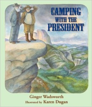 EDITABLE SmartBoard lesson for John Muir and Camping with