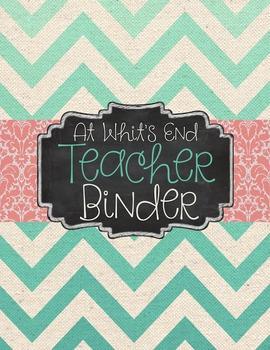 EDITABLE Teacher Binder & Yearly Printables for Classroom