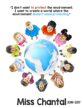 EDITABLE Teacher Binder: Kids and the World