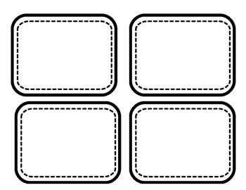 EDITABLE What to do when done cards