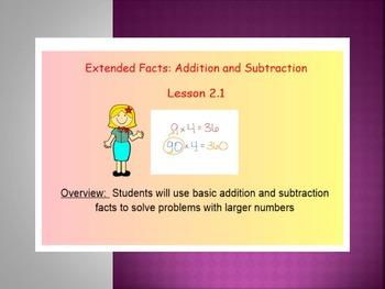 EDM 4 (Everyday Math 4) Grade 3 Unit 2 BUNDLE Smart Notebo