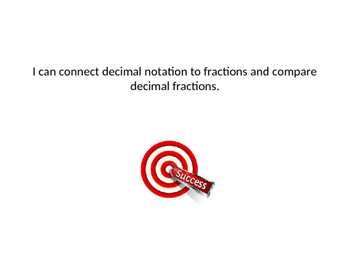 EDM 4 Grade 4 Fraction and Decimal Review Power Point