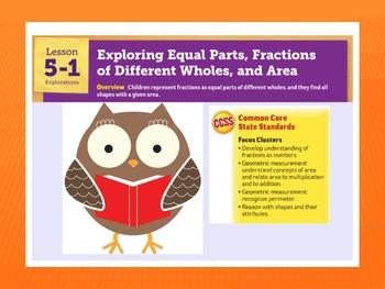 EDM4 (Everyday Math 4) Grade 3 Lesson 5.1 Smart Notebook P