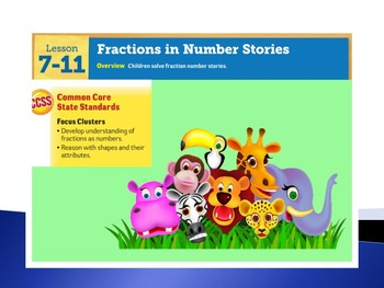EDM4 (Everyday Math 4) Grade 3 Lesson 7.11 Smart Notebook