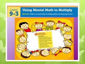 EDM4 (Everyday Math 4) Grade 3 Lesson 9.3 Smart Notebook P