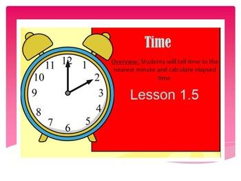 EDM4 (Everyday Math 4) Grade 3 Lesson 1.5 Smart Notebook P
