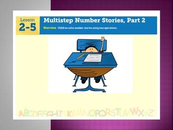 EDM4 (Everyday Math 4) Grade 3 Lesson 2.5 Smart Notebook P