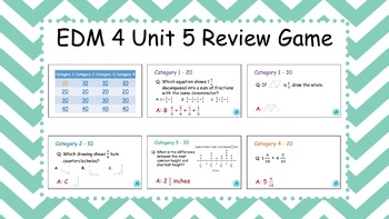 EDM4 - 4th Grade - Unit 5 Review Game