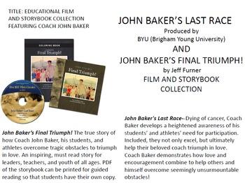 JOHN BAKER's Final Triumph! Storybook, Activity Book and Film
