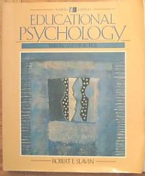 Textbook EDUCATIONAL PSYCHOLOGY THEORY AND PRACTICE Robert