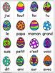 EEK - Lapin de Pâques! Travailler les noms des lettres & l