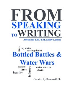 EFL/ESL Essay Lesson: Bottle Battles and Water Wars