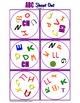EL ALFABETO Spanish Alphabet Matching Game SHOUT OUT; 1-6