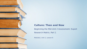 EL Module 2 Unit 2 Lesson 6