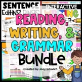 ELA BUNDLE!  - A focus on WRITING, GRAMMAR, and COMPREHENSION