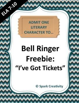 "ELA Bell Ringer: ""I've Got Tickets"""