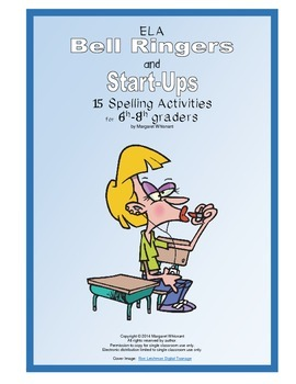 ELA Bell Ringers and Start-Up  15 Spelling Activities for