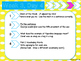 ELA Bell Work Dailies for 4th/ 5th Graders {1st 9 weeks- m