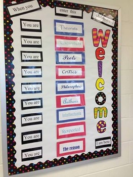ELA Bulletin Board