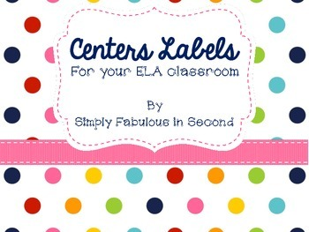 ELA Centers Labels