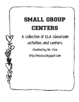 ELA Centers and Teacher Forms Bundle