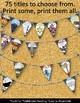 ELA Classroom Decor Elementary Literature Make Your Own Pe