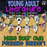 ELA Classroom Decor Young Adult Literature: Make Your Own