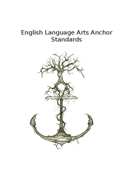 ELA Common Core ANCHOR Standards WORD WALL