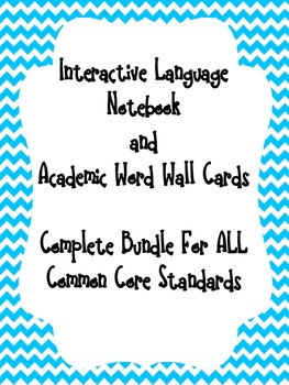 ELA Common Core Complete Set-ALL Standards- Interactive St