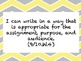 """ELA Common Core """"I Can"""" Standards and Word Wall Words for"""