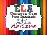 ELA Common Core Standards: Grades 6-8 Full Size Binder Fli