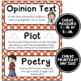 ELA Word Wall Vocabulary Cards - 3rd Grade - Polka Dot