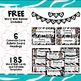 ELA Word Wall Vocabulary Cards - 5th Grade - Zebra Print
