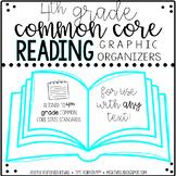 ELA Common Core graphic organizers (4th grade)