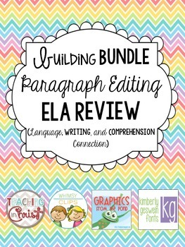 ELA Editing Spiral Review SAMPLE