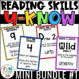 Literacy Games Bundle 1: U-Know  ELA Games