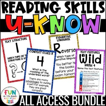 Literacy Games MEGA Bundle: U-Know | ELA Games