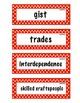 ELA Grade 4, Module 2A, Unit 2 Vocabulary Words