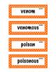 ELA Grade 4, Module 2B, Unit 1 Vocabulary Words