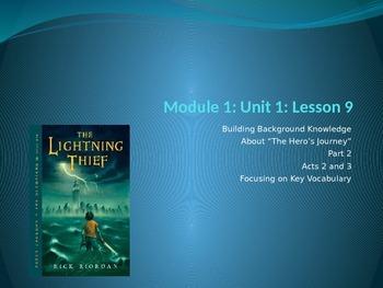 ELA Grade 6 Engage NY Module 1 unit 1 Lesson 9 The Lightni