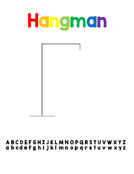 ELA Hangman Center