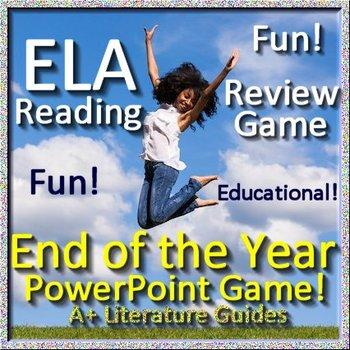 Language Arts Skills Review Game ELA